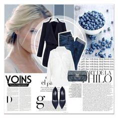 """""""# VIII/4 Yoins"""" by lucky-1990 ❤ liked on Polyvore featuring Edition, Hudson Jeans, Gianvito Rossi, women's clothing, women, female, woman, misses, juniors and yoins"""
