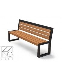 Lawka Pluris 02.005 Outdoor Sofa, Metal Outdoor Bench, Raw Furniture, Furniture Design, Outdoor Furniture, Resin In Wood, Wood And Metal, Iron Table, Ana White