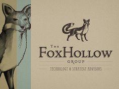 The Fox Hollow Group - logo design  by Srdjan Kirtic   December 02, 2011