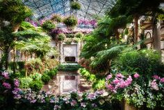Longwood Gardens -Located in the historic Brandywine Valley in Chester County, Pennsylvania