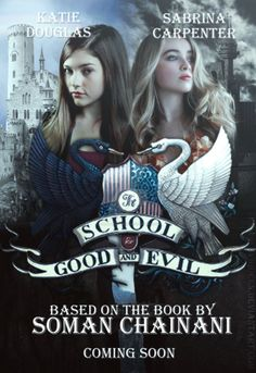 Fanmade Movie Poster inspired in the beautiful fantasy saga by Soman Chainani #FilmSchoolsReview