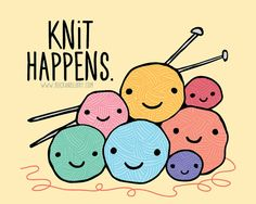 Knit Happens by Buck and Libby