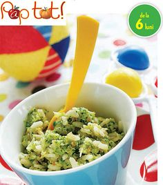 Risotto rice with carrots and broccoli – License high-quality food images for your projects – Rights managed and royalty free – 11168003 Guacamole, Baby Food Recipes, Healthy Recipes, Healthy Food, Risotto Rice, Eat Smarter, Carrots, Mexican, Dining
