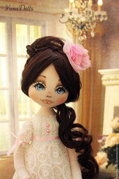 Наташа Ростова - белый,кукла,текстильная кукла,кукла в подарок,кукла интерьерная