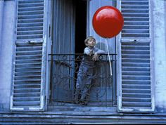 boy with red balloon~~the movie is on Netflix!
