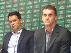 """Chape apresenta Vagner Mancini: """"Vamos montar um time forte"""" #globoesporte"""