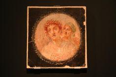 A Day in Pompeii: Medallion Fresco