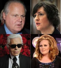 From Lagerfeld's totally uncalled for comments about Adele's body to Limbaugh's deplorable declaration that Georgetown student Sandra Fluke is nothing but a birth-control-toting hussy, weight-shaming and slut-shaming suddenly seem to be the go-to quick fixes for instant publicity. And it seriously has to stop.