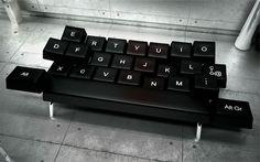 QWERTY Keyboard Sofa