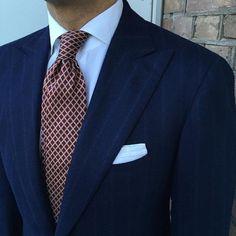violamilano tie and @cesareattolini jacket