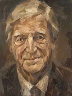 Jonathan Yeo - portrait of Michael Parkinson