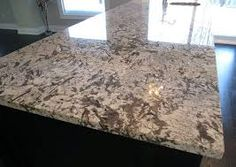 Bianco Antico granite is a stone loved for its crisp white bedrock and stunning brown mineral deposits. Recycled Glass Countertops, Kitchen Countertop Materials, Granite Kitchen, Concrete Countertops, Kitchen Countertops, Refinish Countertops, Types Of Countertops, Home Decor Kitchen, Kitchen Design