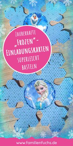 "So you can easily create invitation cards for a children's birthday with the motto ""Frozen"". Olaf, Elsa and Anna. Beautiful motifs will enchant children's eyes. Create Invitation Card, Invitation Cards, Invitation Ideas, Elsa Olaf, Elsa Frozen, Fathers Day Gifts, Lema, Cat Noir, Invitations"