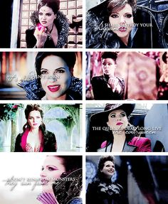 The Evil Queen: My happy ending looks like Snow White's head on a plate. #ouat