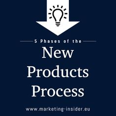 The new products process takes a new product from idea to the time of launch and beyond. Let's investigate the 5 phases of the new products process.