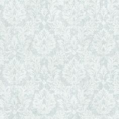 Chesapeake 56.4 sq. ft. Cottage Blue Damask Wallpaper-CCB193523 - The Home Depot
