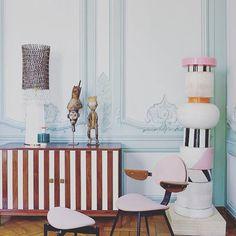Always inspiring @ettoresottsass  #interiors #home #homewares #design #stripes #lifestyle #interiordesign