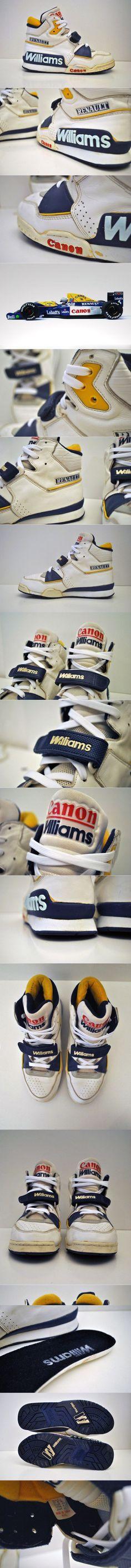 Renault Williams Vintage F1 Racing Sneaker