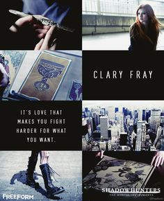 """News on the Mortal Instruments TV show, """"Shadowhunters"""". Clary Fray, Shadowhunters Clary And Jace, Clary E Jace, Shadowhunters Tv Show, Shadowhunters The Mortal Instruments, Isabelle Lightwood, Jace Wayland, Cassandra Clare, Clace"""