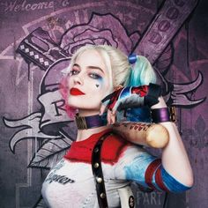 Makeup, Hairstyle Trend 2016, 2017, 2018, Video Tutorial: Get The Look for Halloween, Harley Quinn Suicide Squad Movie, Costume Idea, Lush Hair Extensions