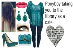 Library date with ponyboy