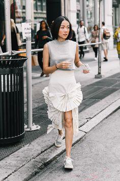 Street Style #NYFW / Día 5 Foto: © Diego Anciano / @collagevintage2