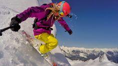 Freestyle Skiing Adventure Sports 4k Ultra Hd Wallpaper