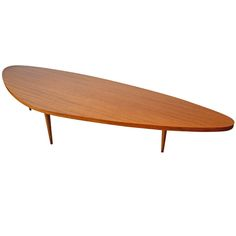 1950s Harvey Probber Boomerang Coffee Table   From a unique collection of antique and modern coffee and cocktail tables at http://www.1stdibs.com/furniture/tables/coffee-tables-cocktail-tables/