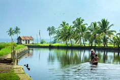 Kerala is one of the most explored tourist destinations to the south most tip of India. Holding in the best of attractions and elements of interest Kerala is a land welcoming travellers to a greater extent. Kerala Travel, Kerala Tourism, India Travel, Landscape Photos, Landscape Photography, Nature Photography, Kerala Backwaters, Rural India, Kerala Houses
