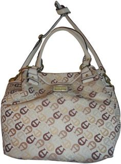 771938e8c2 Amazon.com  Women s Etienne Aigner Purse Handbag Maxine N S Tote Collection  Multi Neutral w Ecru  Shoes