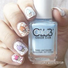 MoYou IceCream | Jessi Brownie Blog #nailstamping #colorclub #moyou
