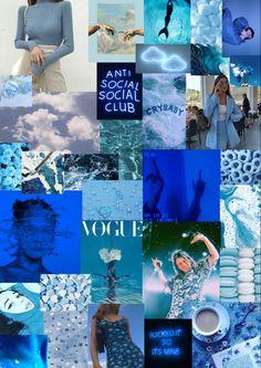 Blue aestethic wallpaper