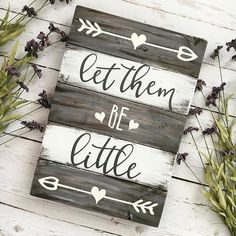 "Yes.  Let them be little. Such a simple phrase, but it means so much and something I constantly remind myself many times a day (mostly while taking deep breaths ). I most definitely do not have a perfectly cleaned and staged home right now, my 2 toddlers are currently screaming, jumping, and pulling every toy out in the playroom and my newborn is living by the mantra ""sleep is for the weak"" and only wants to do so by me holding him. But you know what? I'm embracing it, loving the crazy ..."