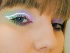 Purple Day, Pretty Makeup Looks, Pastel Palette, Beauty Bay, Holographic Glitter, Pastel Shades, Color Effect, Pretty Pastel, One Light