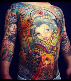 Geisha full body