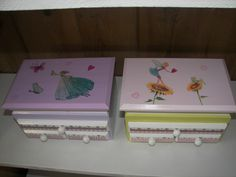 decoupage boxes for girls