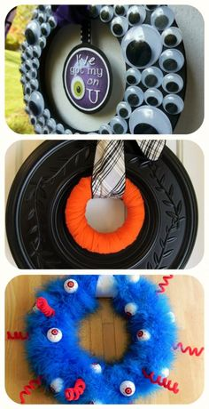 Fabulous Halloween Wreath tutorials