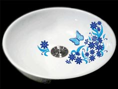 Attirant Daisy Decals Offered In Many Different Versions With Over 30 Colors To  Choose From. Great. Bathroom DecalsBathroom SinksVessel ...