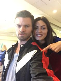 Daniel Gilles and Phoebe Tonkin Hayley The Originals, Hayley And Elijah, The Originals Tv Show, Originals Cast, Phoebe Tonkin The Originals, Vampire Diaries Seasons, Vampire Diaries Funny, Vampire Diaries Cast, Vampire Diaries The Originals