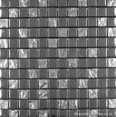 Chrome Silver Mosaic
