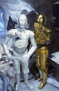 Star Wars: The Empire Strikes Back - Behind the Scenes Star Wars Film, Star Wars Droiden, Star Wars Fan Art, Star Wars Characters, Star Wars Episodes, Harrison Ford, Saga, Star Wars Design, Star Wars Pictures