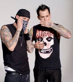 Benji & Joel Madden of Good Cha