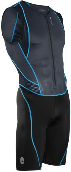 LIke the textured panels Turbo Tri Suit
