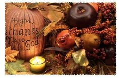 We give thanks to God