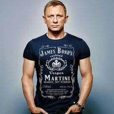 I definitively NEED this SHIRT !! WANT the James Bond Vesper martini shirt !