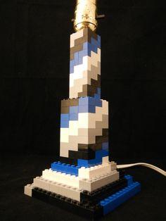 LEGO Spiral Lamp
