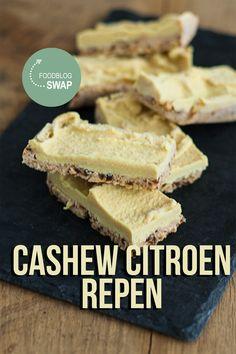 Cashew citroen repen van ik kook ook gemaakt door the answer is food.