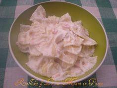 Farfalle al salmone,ricetta delicata
