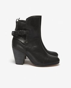 ShopStyle: Rag and BoneKinsey Leather Ankle Boot: Black