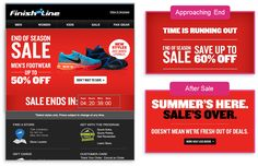 Client : FinishLine Country :  US URL : https://www.finishline.com/ Category : Sports  300% lift in CTR